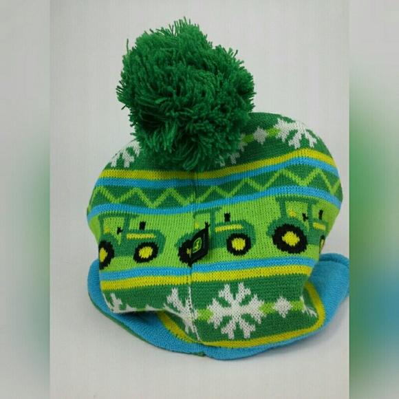 John Deere Toddler Winter Beanie Hat Toboggan 5635f1e50a6